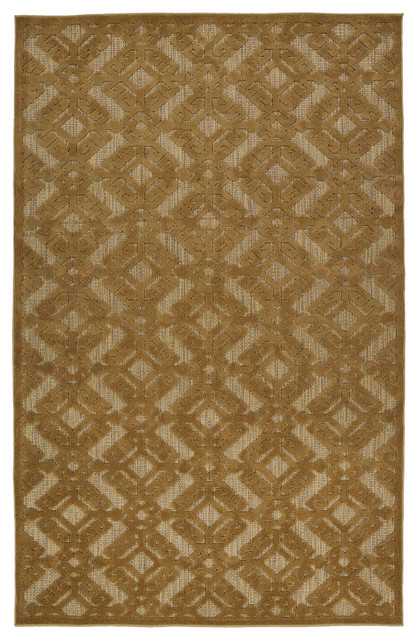 Kaleen A Breath Of Fresh Air Collection Rug Light Brown