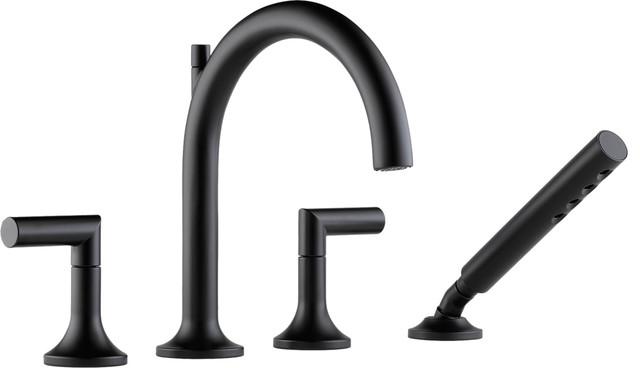 brizo t67475bl odin roman tub trim with handshower faucets - Brizo Faucets