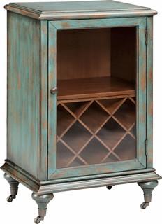 Gemma 1-Door Wine Cabinet, 13174