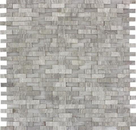 white oak split face pattern modern wall and floor