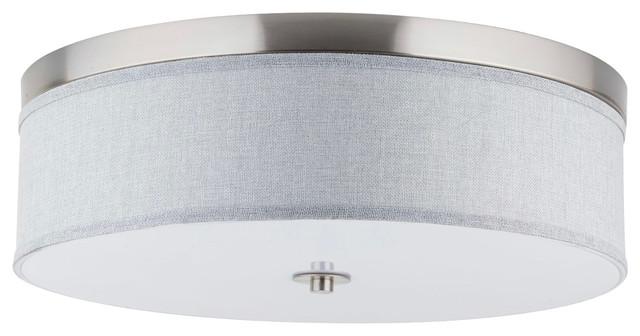 Occhio 20 5 Quot 3 Light Flushmount Ceiling Fixture
