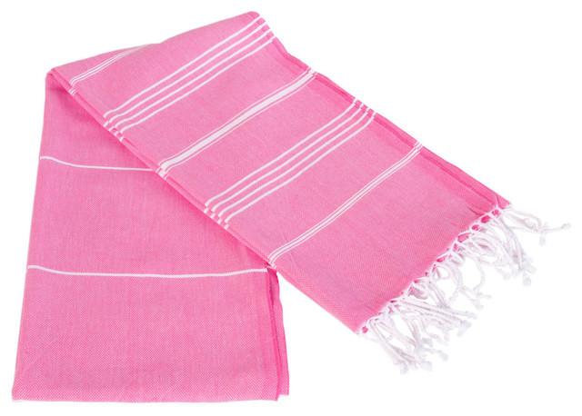 Sultan Peshtemal Deep Pink Light, Throw 61x83.