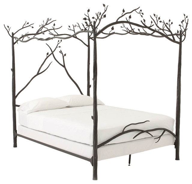 Forest Canopy Bed Twin eclectic-kids-beds  sc 1 st  Houzz & Artesanos Design Collection - Forest Canopy Bed - View in Your ...