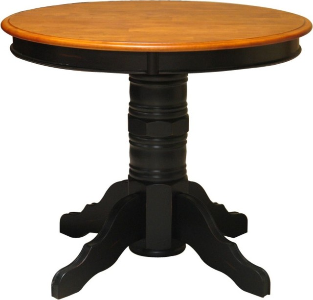 Alford 30 high pedestal base 82sm30base t tb for Traditional dining table bases