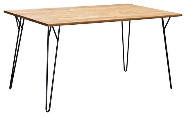 Chloe Dining Table, White Oak.