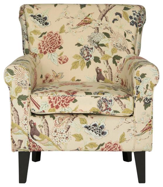 Hazina Club Chair, Multi Print.