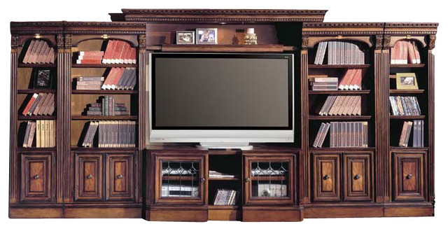 Parker House Huntington Entertainment Library Wall Unit