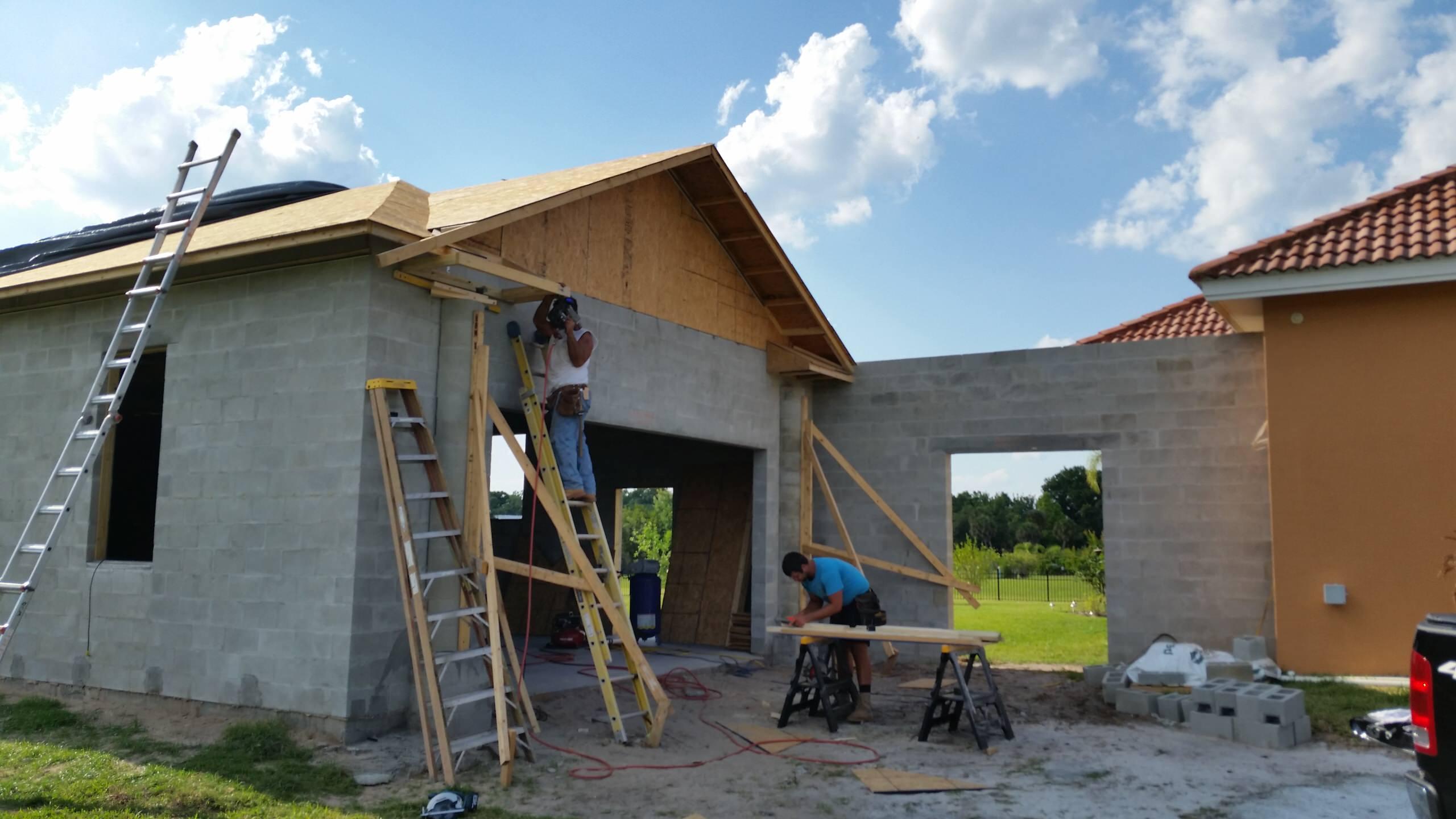 Exterior Garage Project