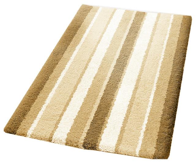 100 Cotton Classic Striped Bathroom Rug Alabama Contemporary