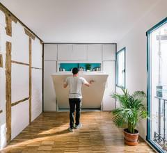 Más vale una imagen...: 9 ideas de almacenaje para pisos pequeños