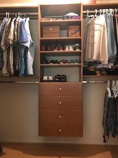 Reach-in closet in Nina Maple - Piedmont, SC