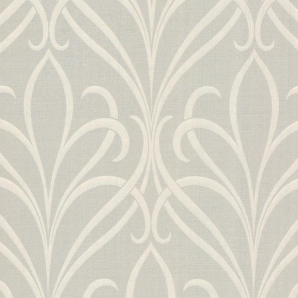 lalique taupe nouveau damask wallpaper bolt contemporary wallpaper - Contemporary Damask Wallpaper