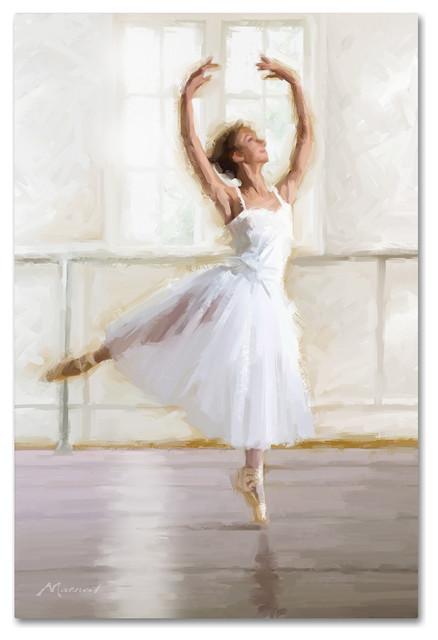 """The Macneil Studio &x27;ballet Dancer&x27; Canvas Art, 22"""" X 32""""."""