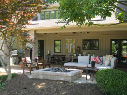 outdoor living room - porch - st louis -heartlands building