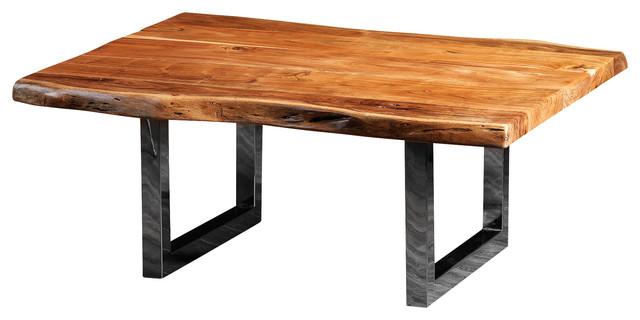 Freeform Coffee Table Made Of Acacia Modern Coffee Tables
