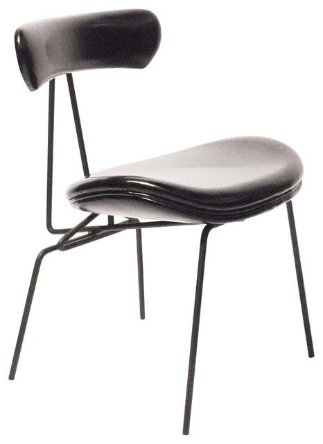 Elle Dining Chair, Vintage Black