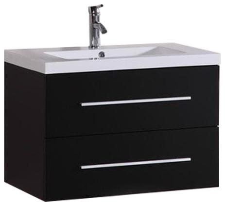 32 Quot Carnegie Floating Bathroom Vanity Modern Bathroom