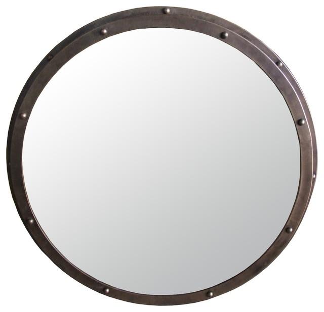 Industrial Wall Mirror industrial mirror - industrial - wall mirrors -noir