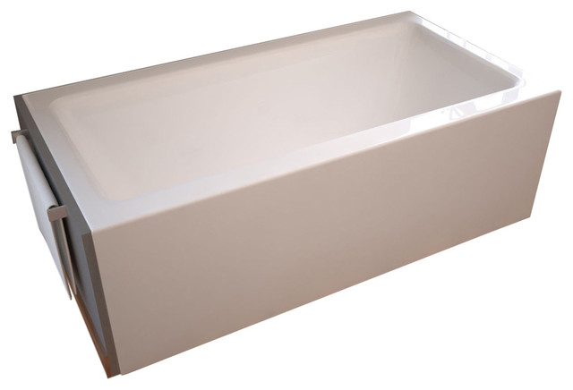 Atlantis Whirlpools Soho 32 X 60 Front Skirted Air Massage Tub With Right Drain.