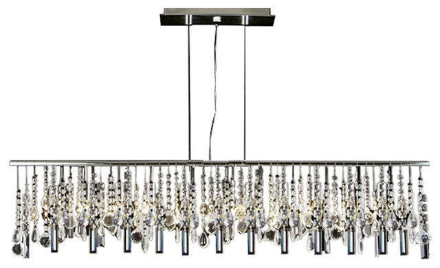 Modern contemporary broadway linear crystal chandelier lamp modern contemporary broadway linear crystal chandelier lamp aloadofball Image collections