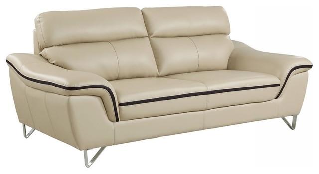 Blackjack Furniture Bailey Collection, Leather Sofa - Contemporary ...