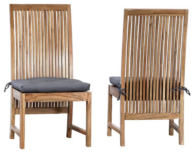 Harvard Indoor/Outdoor  Side Chair - Set of 2