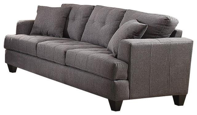 Samuel Sofa With Tufted Cushions