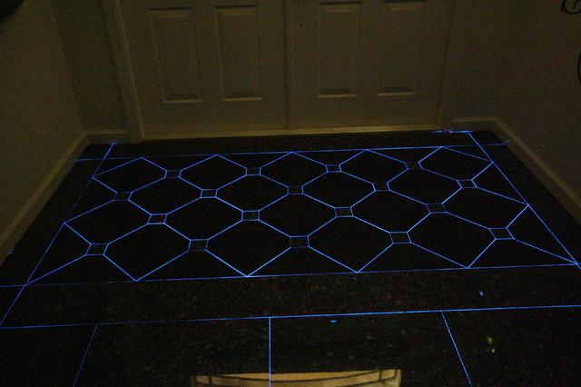 Glow In The Dark Pool Tiles