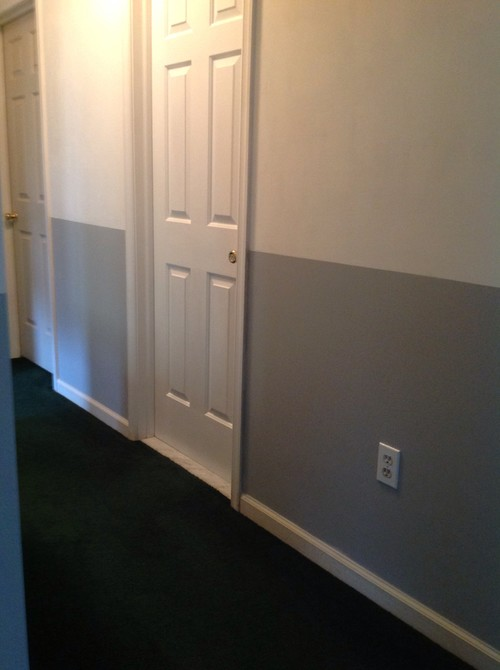Paint colors that go with dark grey carpet carpet the for Wall to wall carpet colors