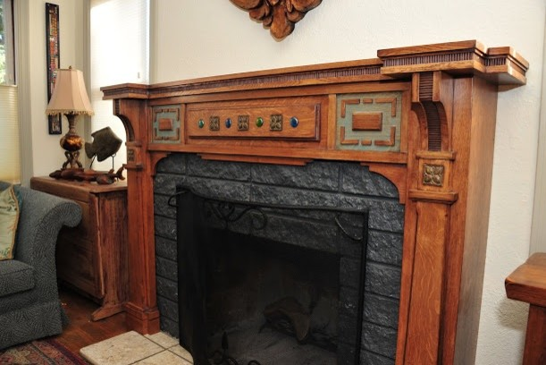 fireplace mantels traditional san francisco by architectural rh houzz com arts and crafts fireplace mantel shelf Arts and Crafts Fireplace Mantels and Surrounds