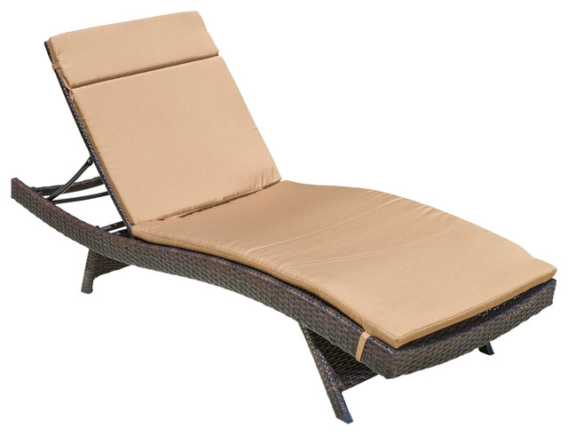 Gdfstudio lakeport outdoor adjustable chaise lounge chair for Chaise lounge bar