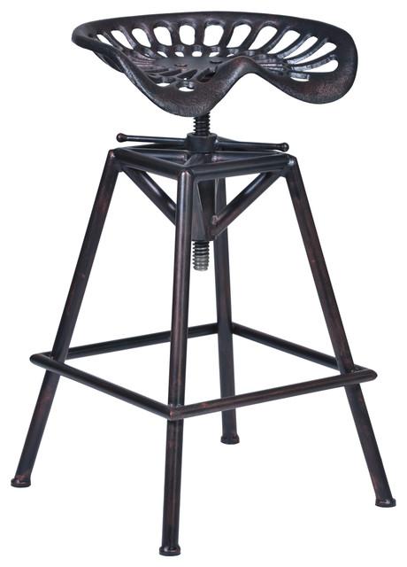 Osbourne Stool, Industrial Copper, Industrial Copper