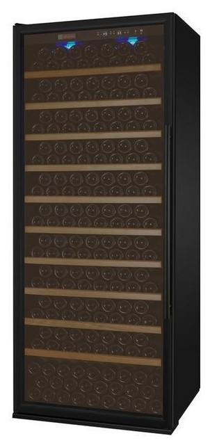 Allavino Vite Wine Refrigerator -305 Bottles Capacity, Black Door, Left Hinge.