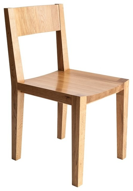 Mashstudios Mash Lax Solid Wood Dining Chairs Set Of 2
