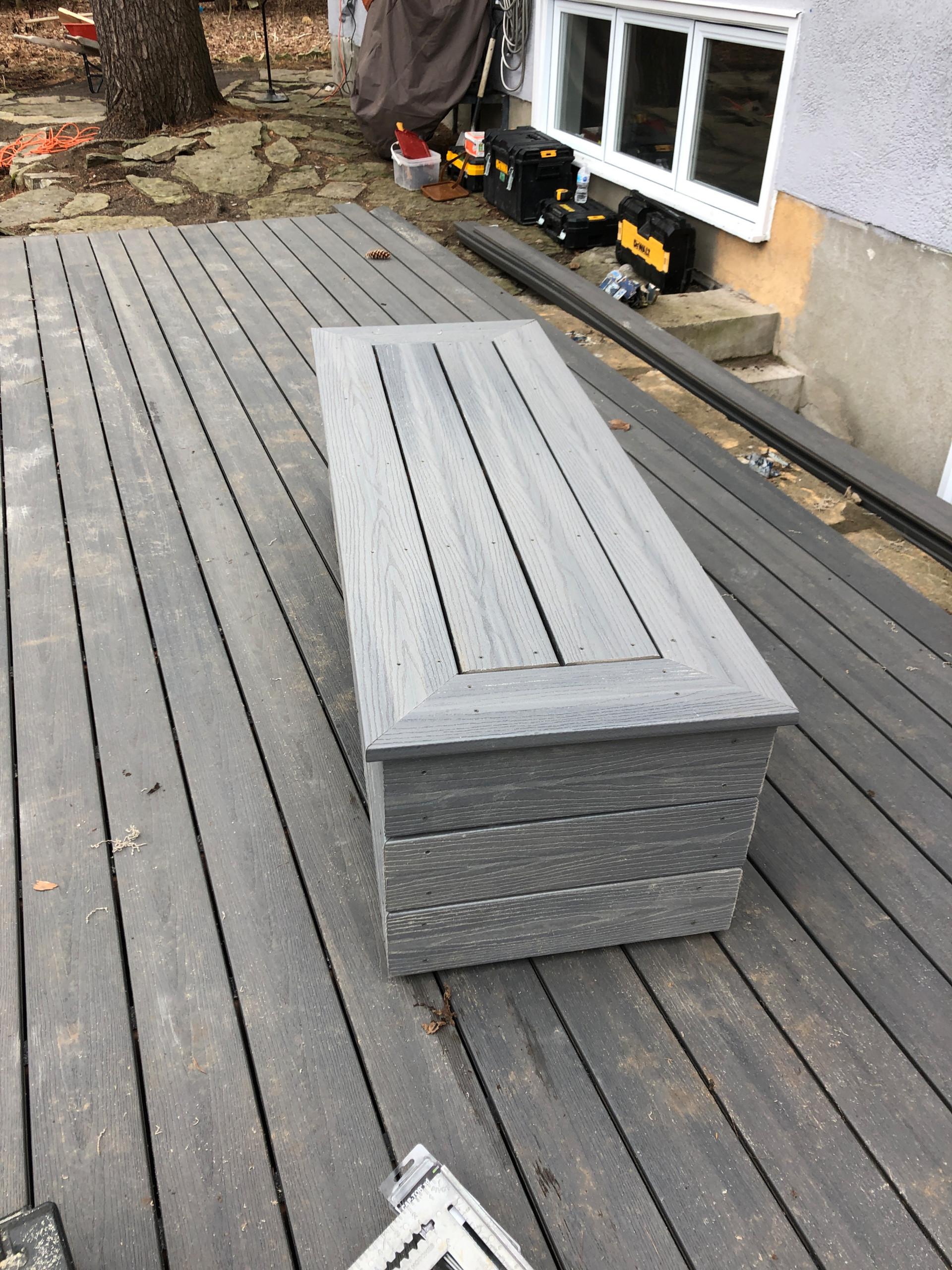 Fiberon Beach house Composite deck