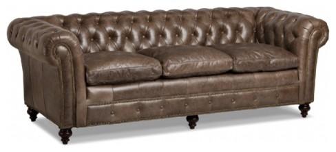 Randall Allan Marley Tufted Sofa