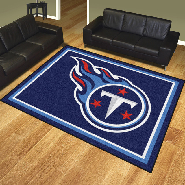 Nfl Tennessee Ans 8 X10 Rug