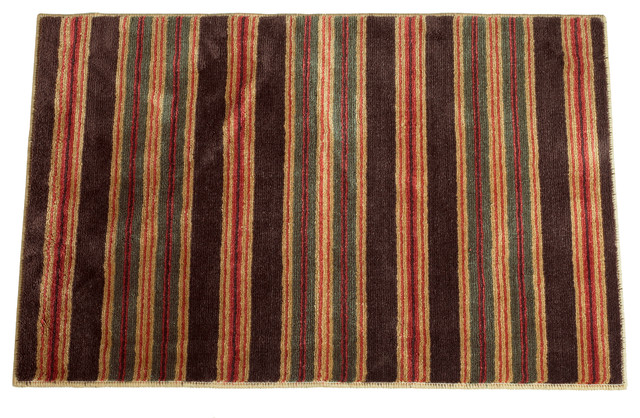 High Country Rug Stripe Rustic Area Rugs