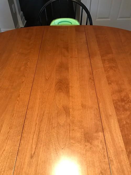. Identifying wood  furniture