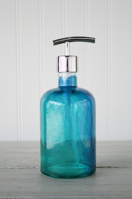 Rail19 Recycled Glass Soap Dispensers