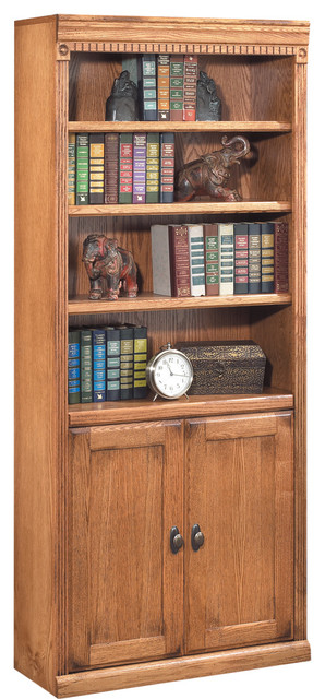 Huntington Oxford Library Bookcase (wheat).