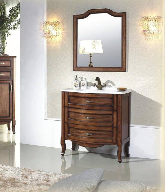 Calvario Antique Style Single Sink Vanity 31.2