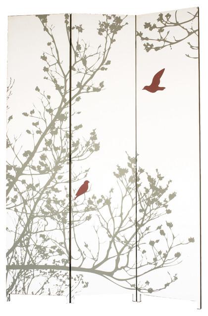Bota Room Screen, Bird Design