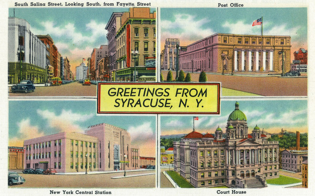 Quot Syracuse New York Greetings From With Scenic Views