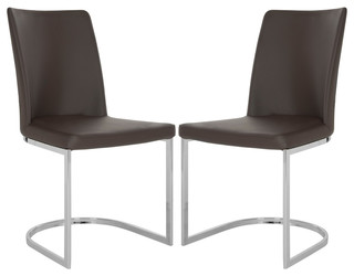 Safavieh Parkston Side Chair, Set of 2, Brown