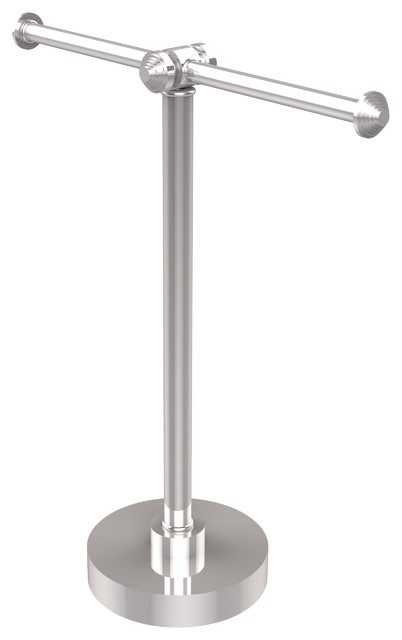 countertop hand towel stand. Wonderful Stand Table 2 Arm Guest Towel Holder Polished Chrome With Countertop Hand Stand U
