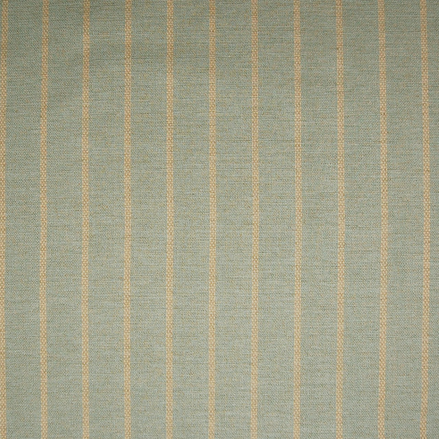 Spa Blue Stripe Woven Cotton Upholstery Fabric