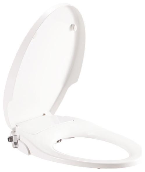 Tremendous Non Electric Bidet Seat Elongated Traditional Ibusinesslaw Wood Chair Design Ideas Ibusinesslaworg
