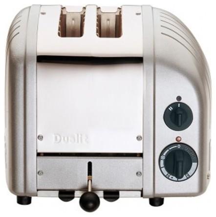 Dualit 2-Slice Toaster Metallic Silver