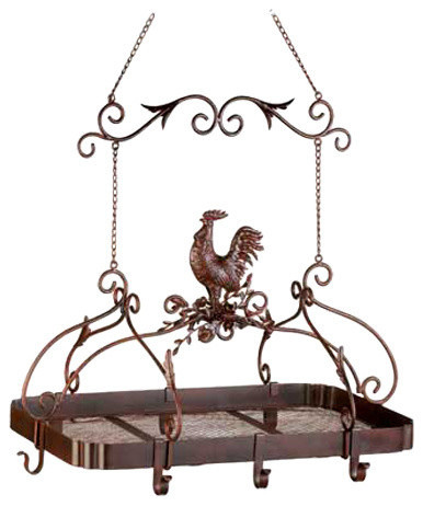 Country Rooster Kitchen Rack.